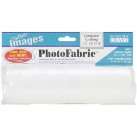Blumenthal Lansing Crafter's Images 100-Percent Cotton Poplin, 8-1/2-Inch by 100-Inch Roll Photo Fabric