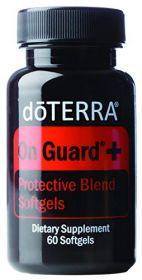 doTERRA - On Guard+ Softgels Essential Oil Protective Blend - 60 Softgels