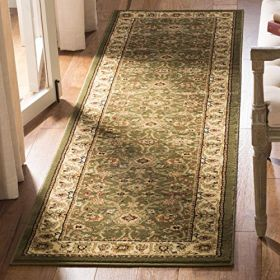 """Safavieh Lyndhurst Collection LNH212C Traditional Oriental Sage and Ivory Runner (2'3"""" x 8')"""